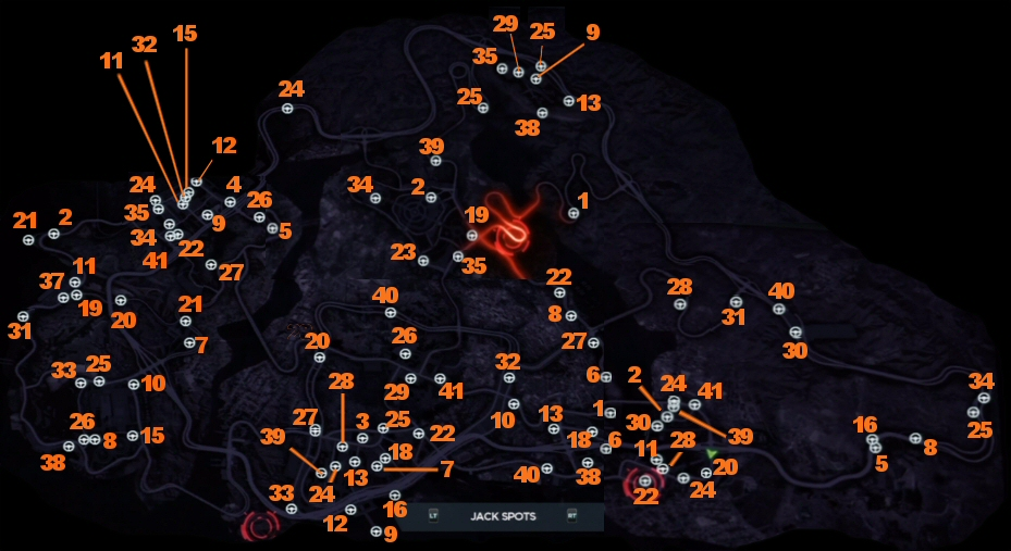 Need For Speed Most Wanted Jack Spot Locations Guide Gamesradar