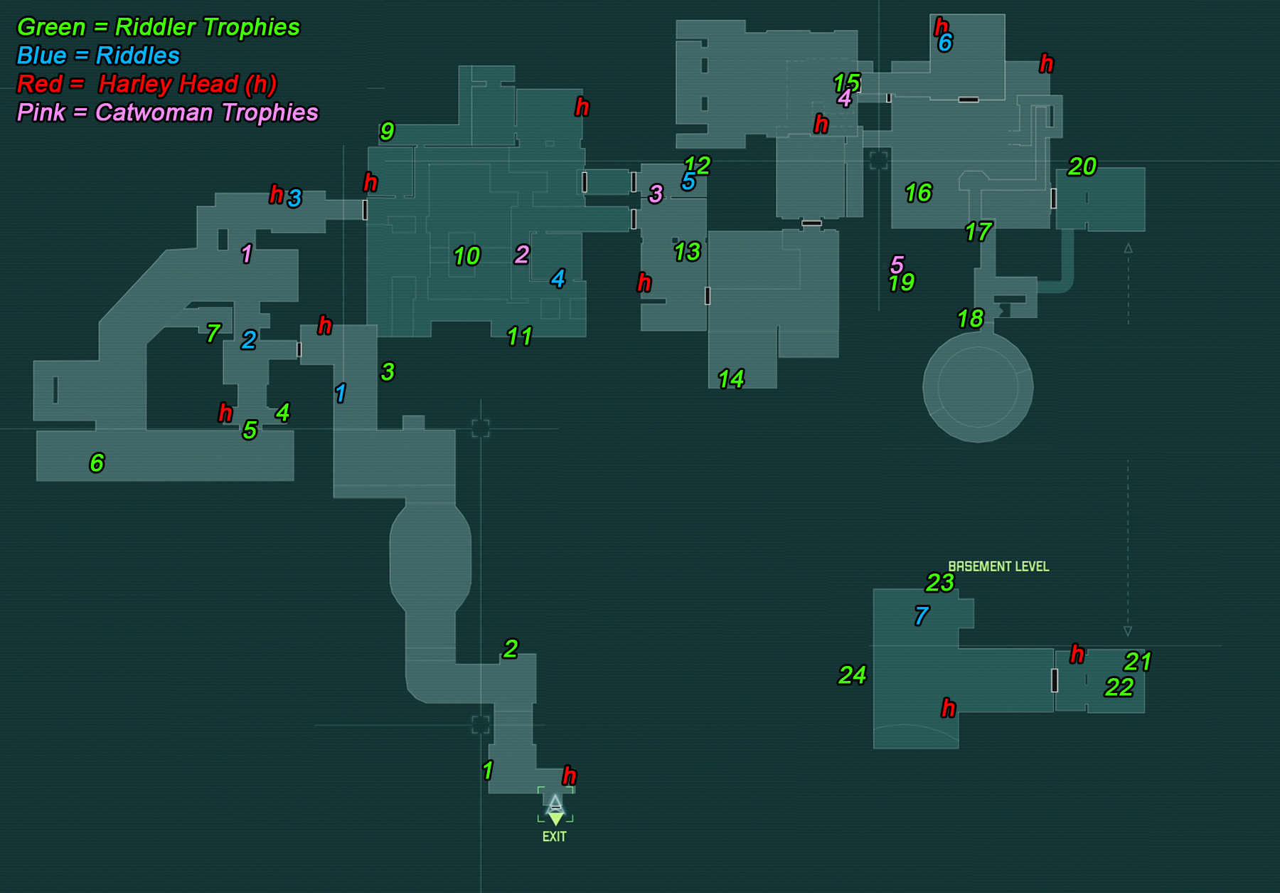 steel mill map batman arkham city riddler guide page 31 gamesradar  at bakdesigns.co