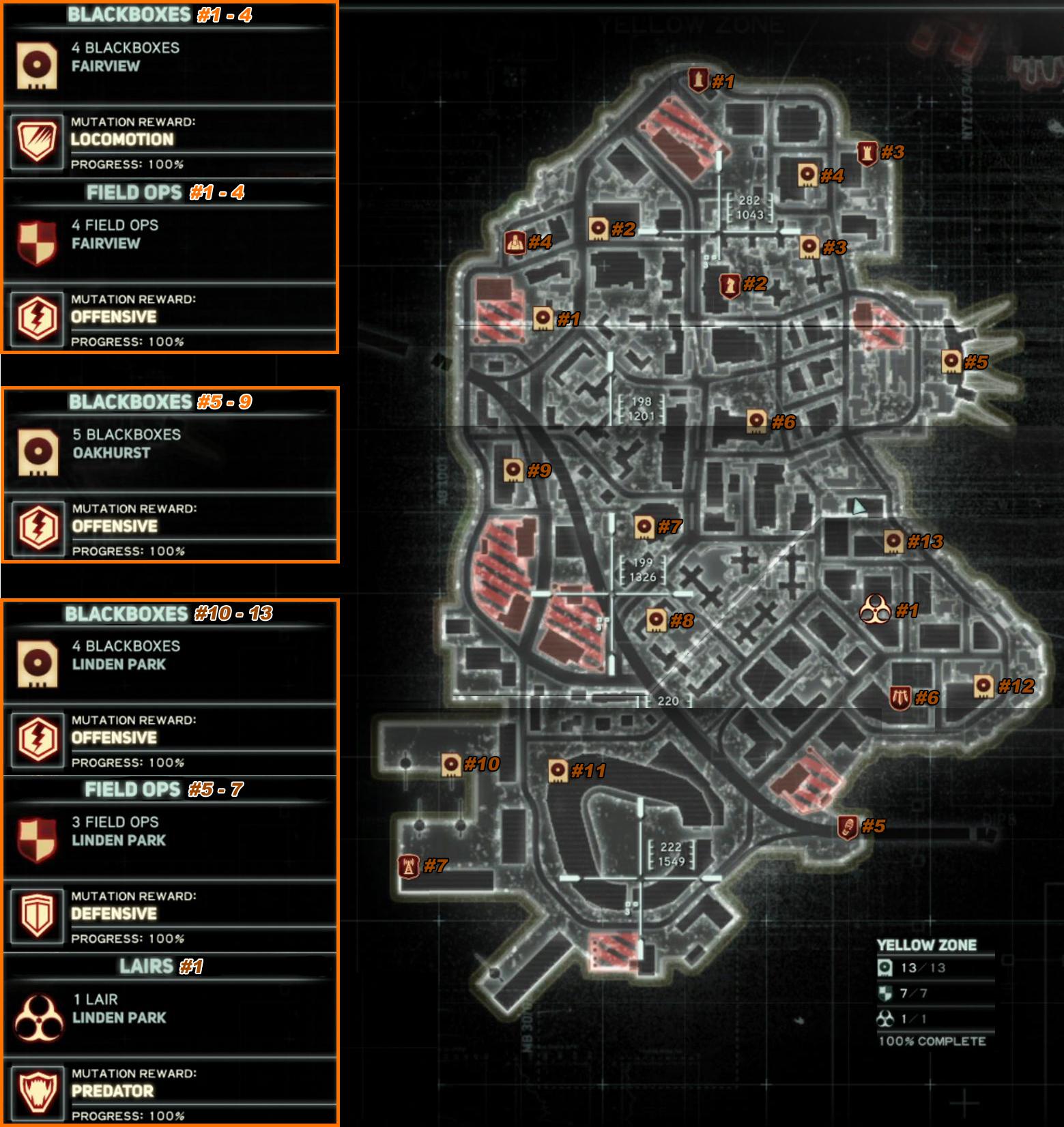 Где находится красная зона